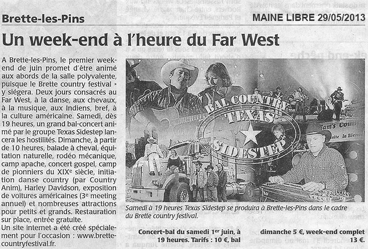 Maine Libre du 29-05-2013
